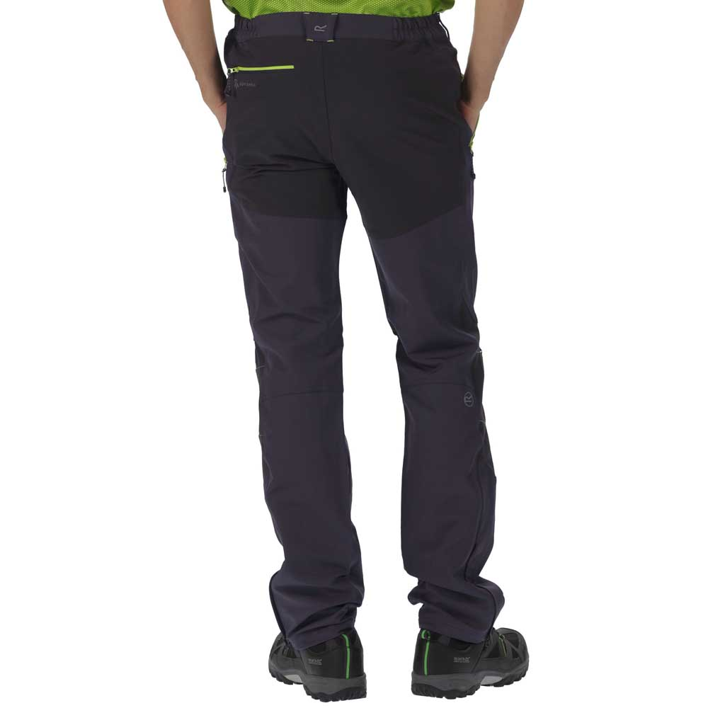 Blue Regatta Questra Stretch Softshell Mens Short Walking Trousers