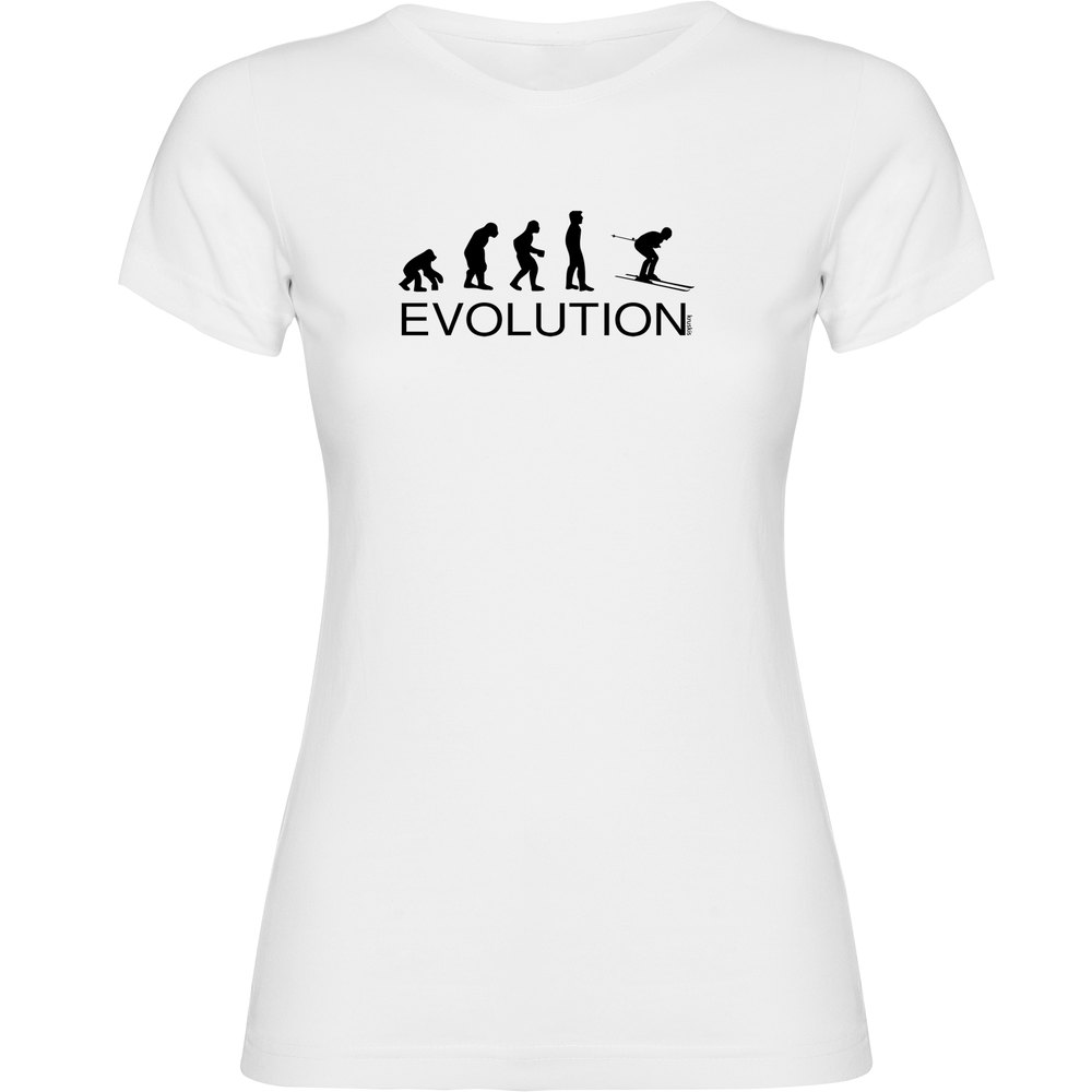 T-shirts Kruskis Evolution Ski XXL White