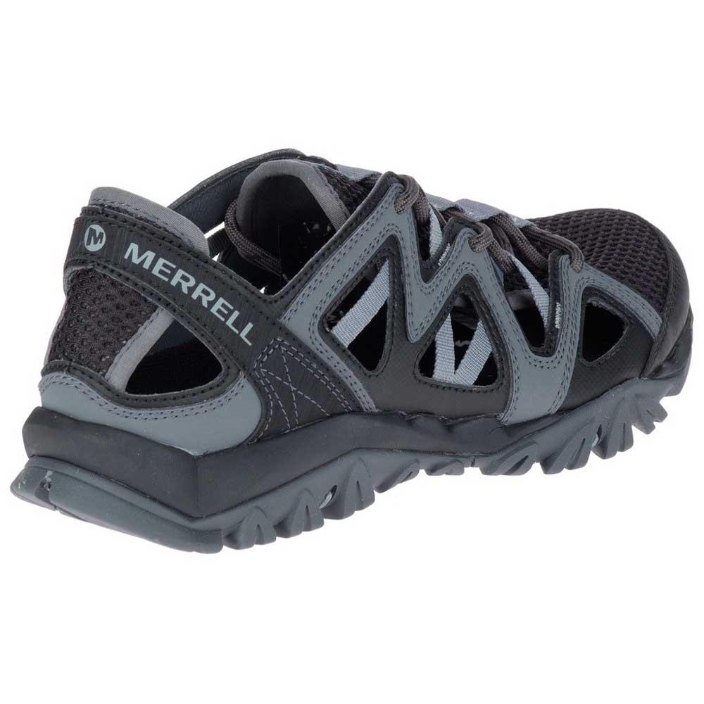 aa424f58be00 Merrell Tetrex Crest Wrap Black buy and offers on Trekkinn