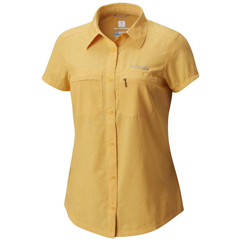 Columbia Ofertas Trekkinn Y En Ss Comprar Irico Shirt Amarillo nqnpgA6