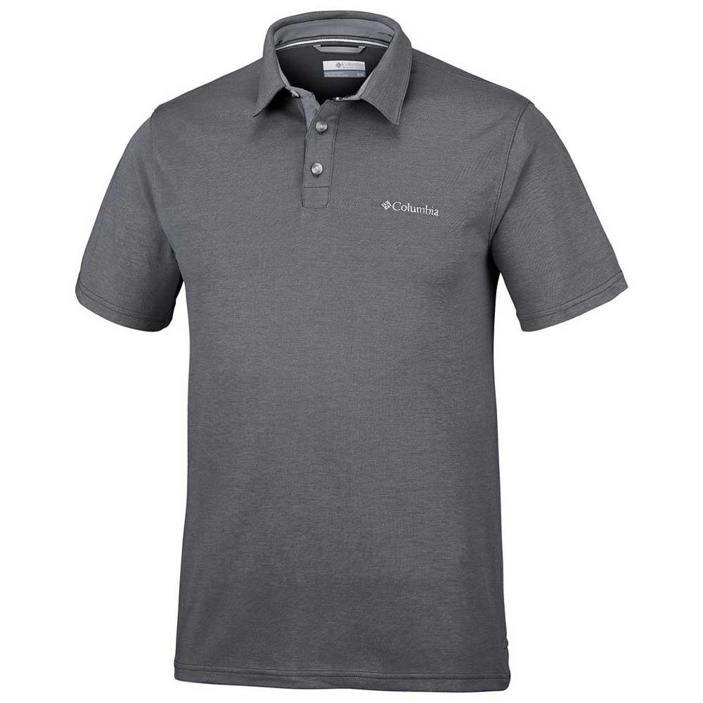 09eaaac5 Columbia Nelson Point Polo Grey buy and offers on Trekkinn