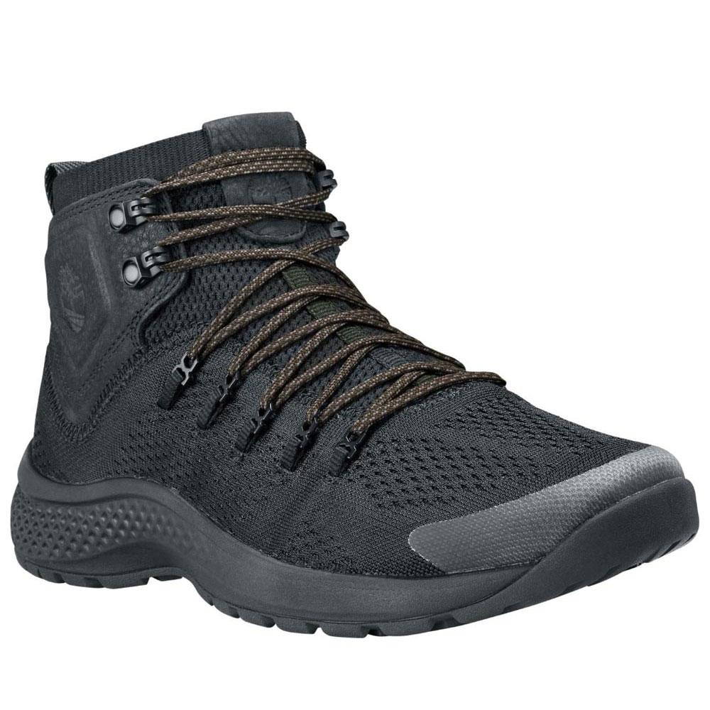 well known cheapest price buy sale Timberland Flyroam Trail Mid Fabric Wide Black, Trekkinn