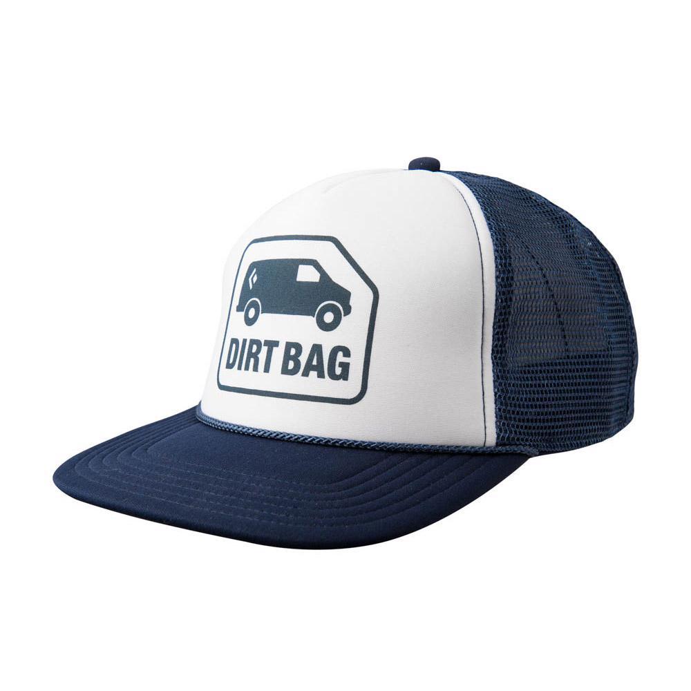 19dcc240591 Black Diamond Flat Bill Trucker Hat White Trekkinn
