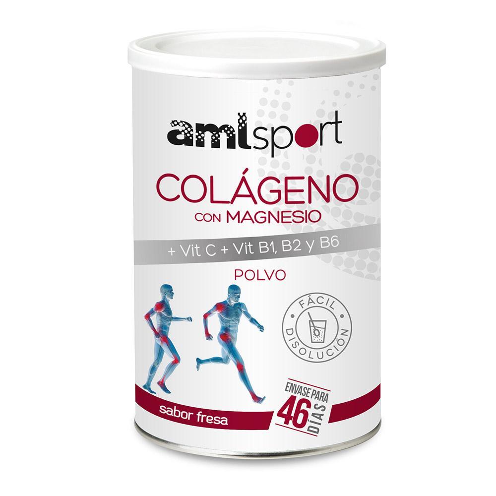 Amlsport Colageno Con Magnesio Vit C+vit B1+b2+b6 Strawberry Box 6 Units