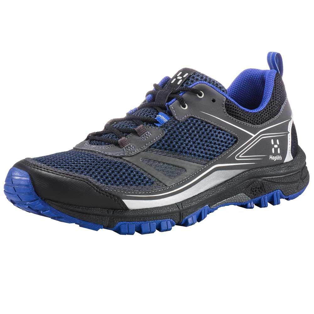 Chaussures Haglofs Gram Trail EU 45 1/2 Magnite / Cobalt Blue