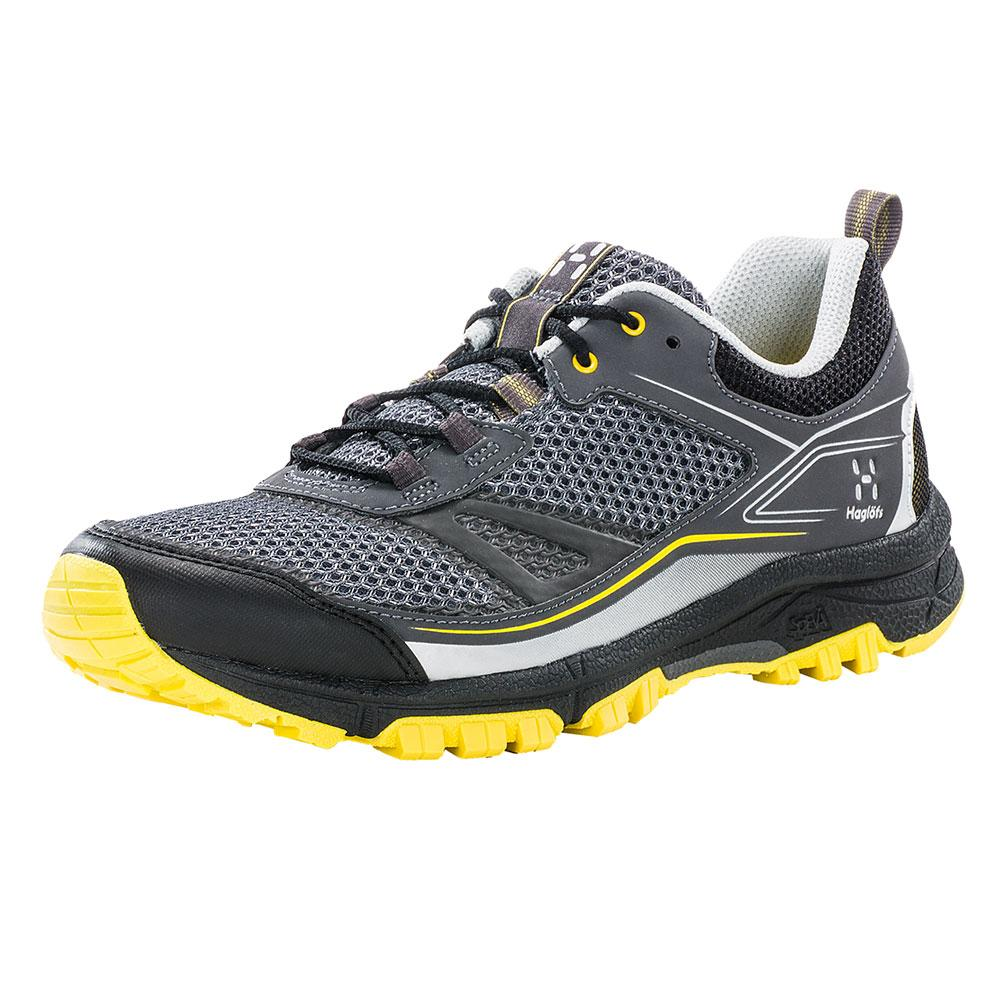 Chaussures Haglofs Gram Trail EU 38 Magnetite / Frozen Yellow