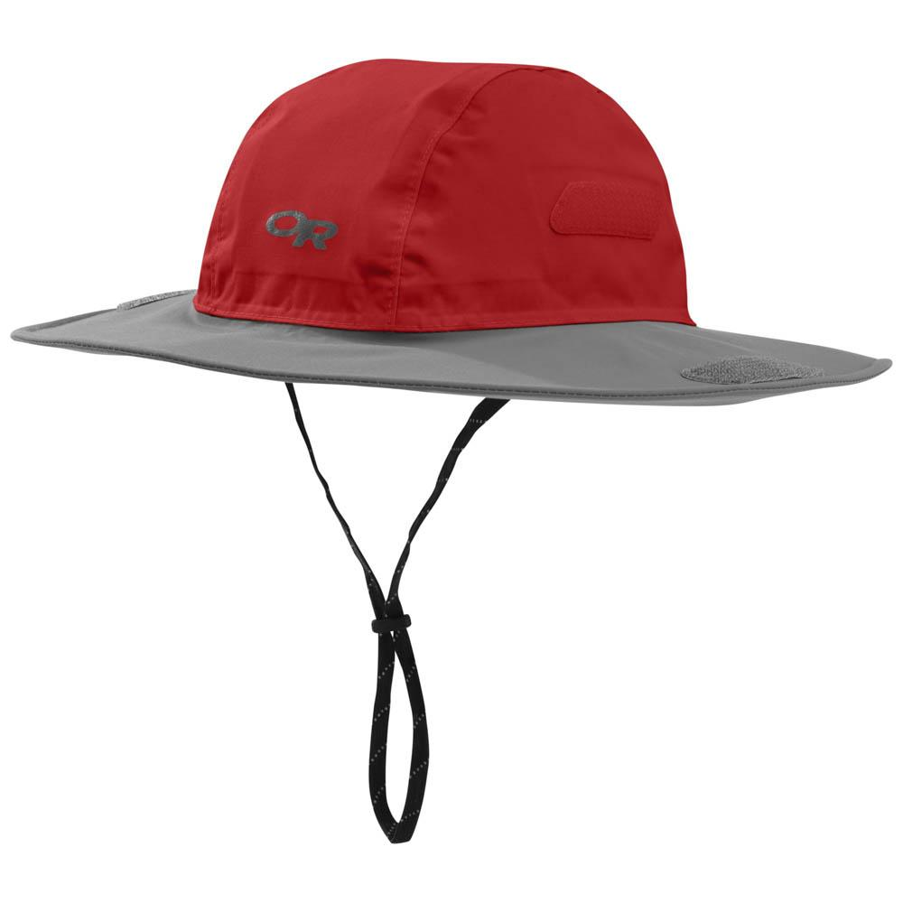 7be9b9ac0d42d Outdoor research Seattle Sombrero Red buy and offers on Trekkinn
