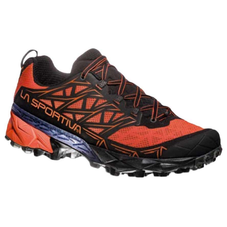 Zapatos naranjas La Sportiva Akyra para hombre aFMhX9n