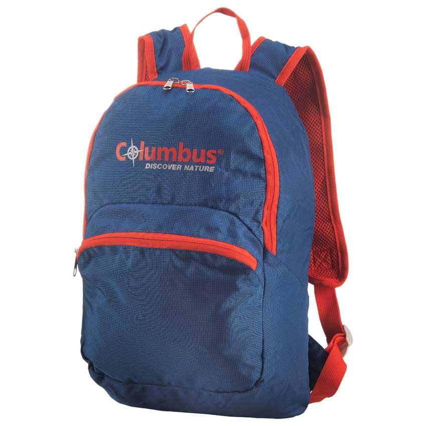 69156aba6f Columbus Foldable Back Pack Orange buy and offers on Trekkinn