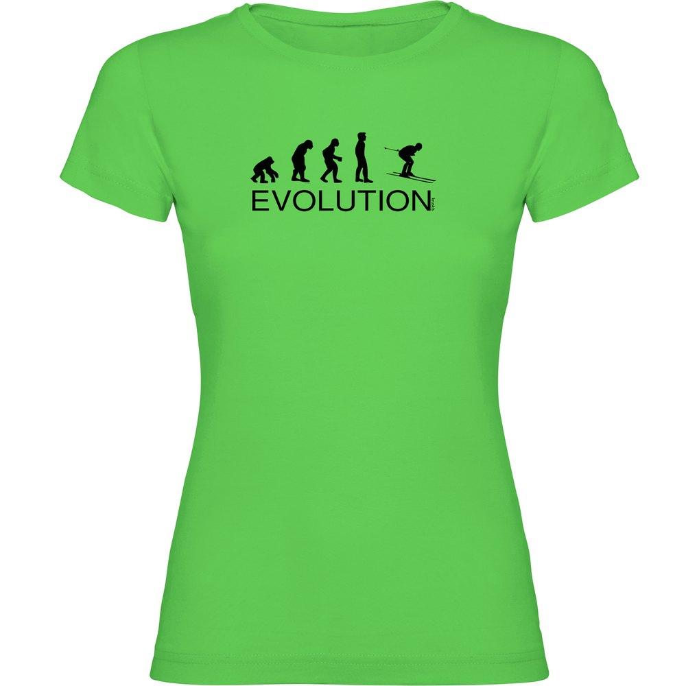 T-shirts Kruskis Evolution Ski XXL Light Green