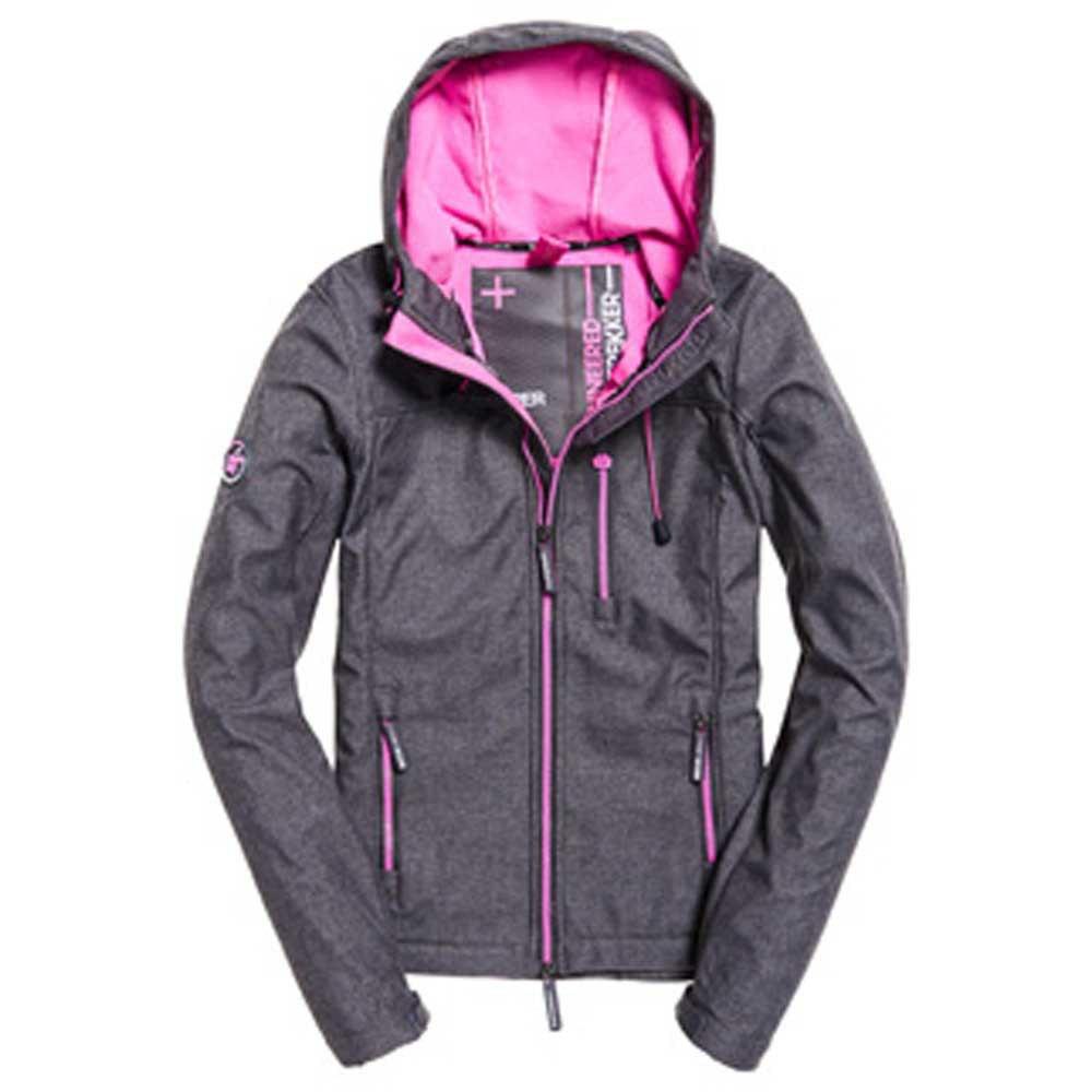 Superdry Hooded Windtrekker Grey buy and offers on Trekkinn 0e002ff06d6