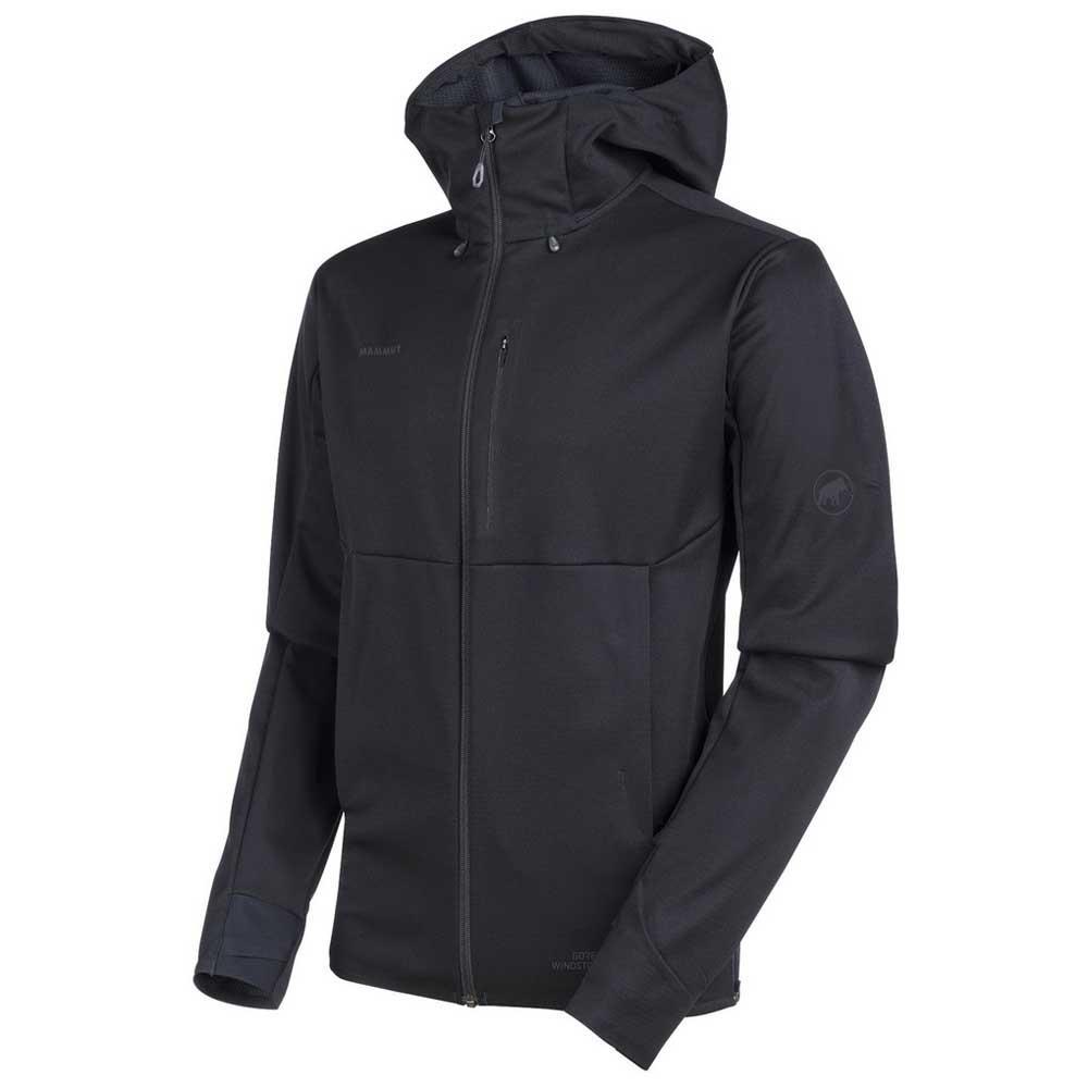 ef434c5ec433 Mammut Ultimate V SO Hooded Black buy and offers on Trekkinn