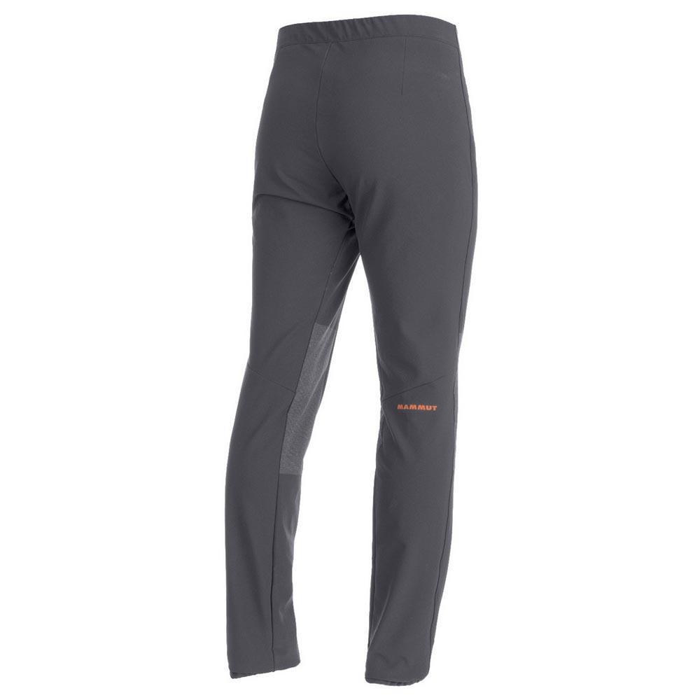Mammut alto Pant men cálida Softshell pantalones para caballeros negro