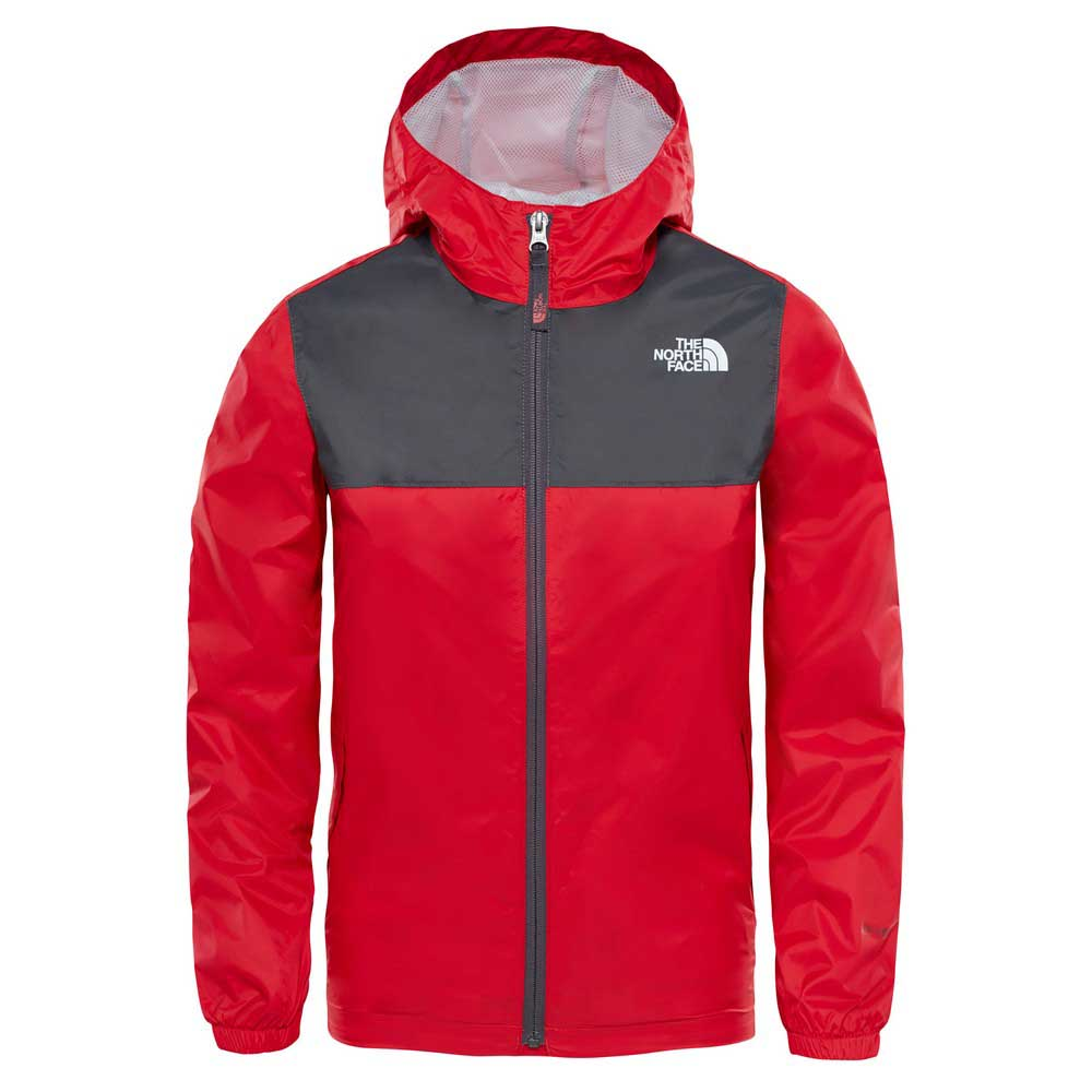 5f2bc5fd94 The north face Zipline Rain Jacket Boys Red