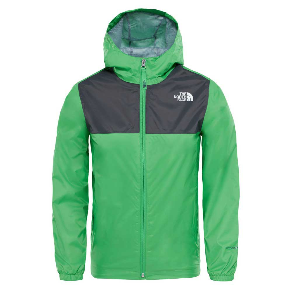 The north face Zipline Rain Jacket Boys Green 83cef51ab186