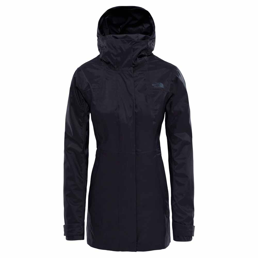 d3d642396d The north face City Midi Trench Black buy and offers on Trekkinn