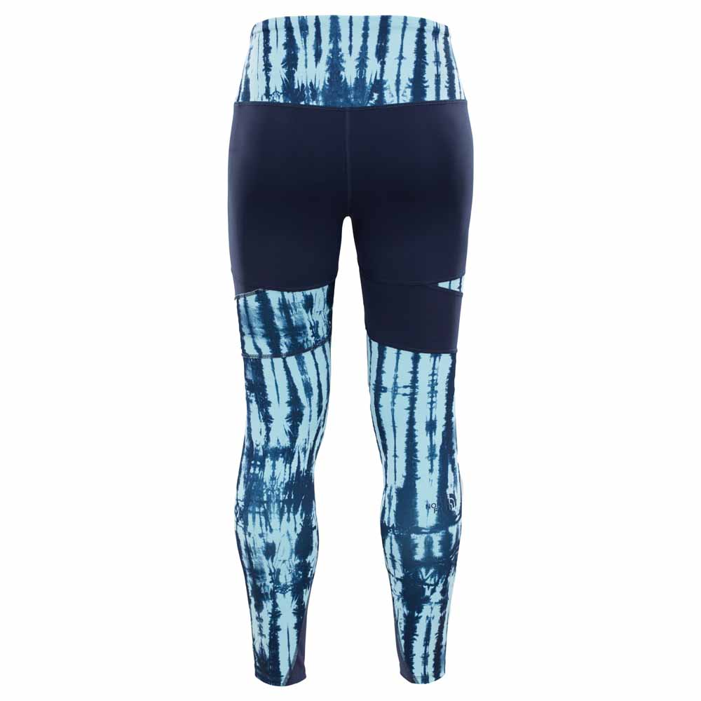 ab750748f0 The north face Motivation High Rise Printed Blue, Trekkinn
