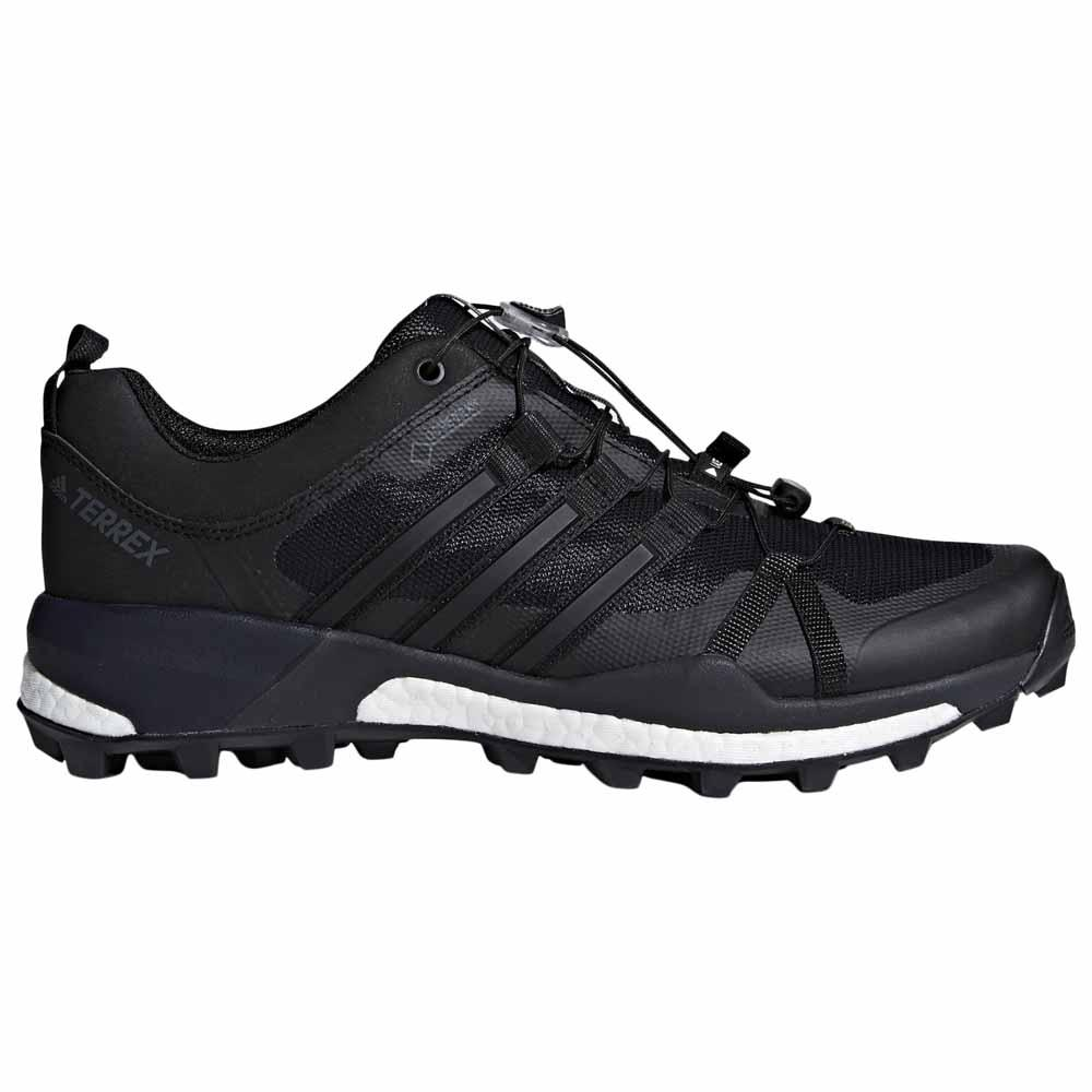 adidas Performance TERREX SKYCHASER GTX - Hiking shoes - core black/carbon I71RZ38