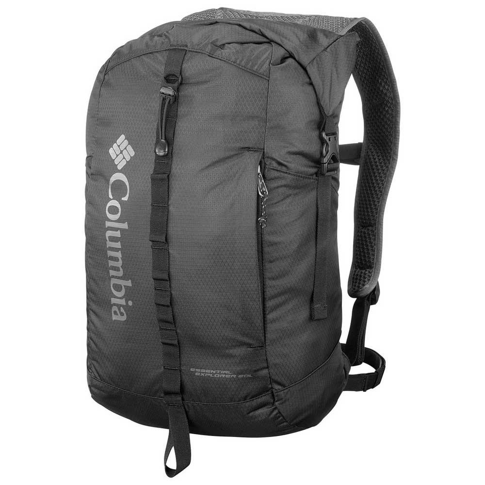 ba34464397 Columbia Essential Explorer 20L Black buy and offers on Trekkinn