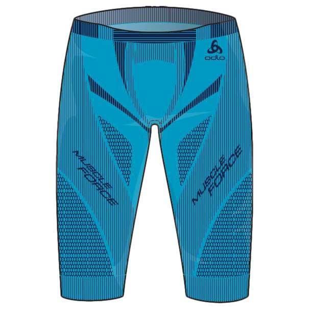58883becf Odlo Muscle Force Short Blue buy and offers on Trekkinn