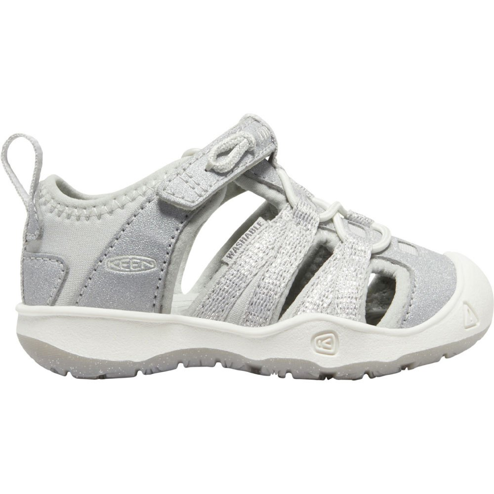 209f0dff54 Keen Moxie Sandal Tots Silver buy and offers on Trekkinn