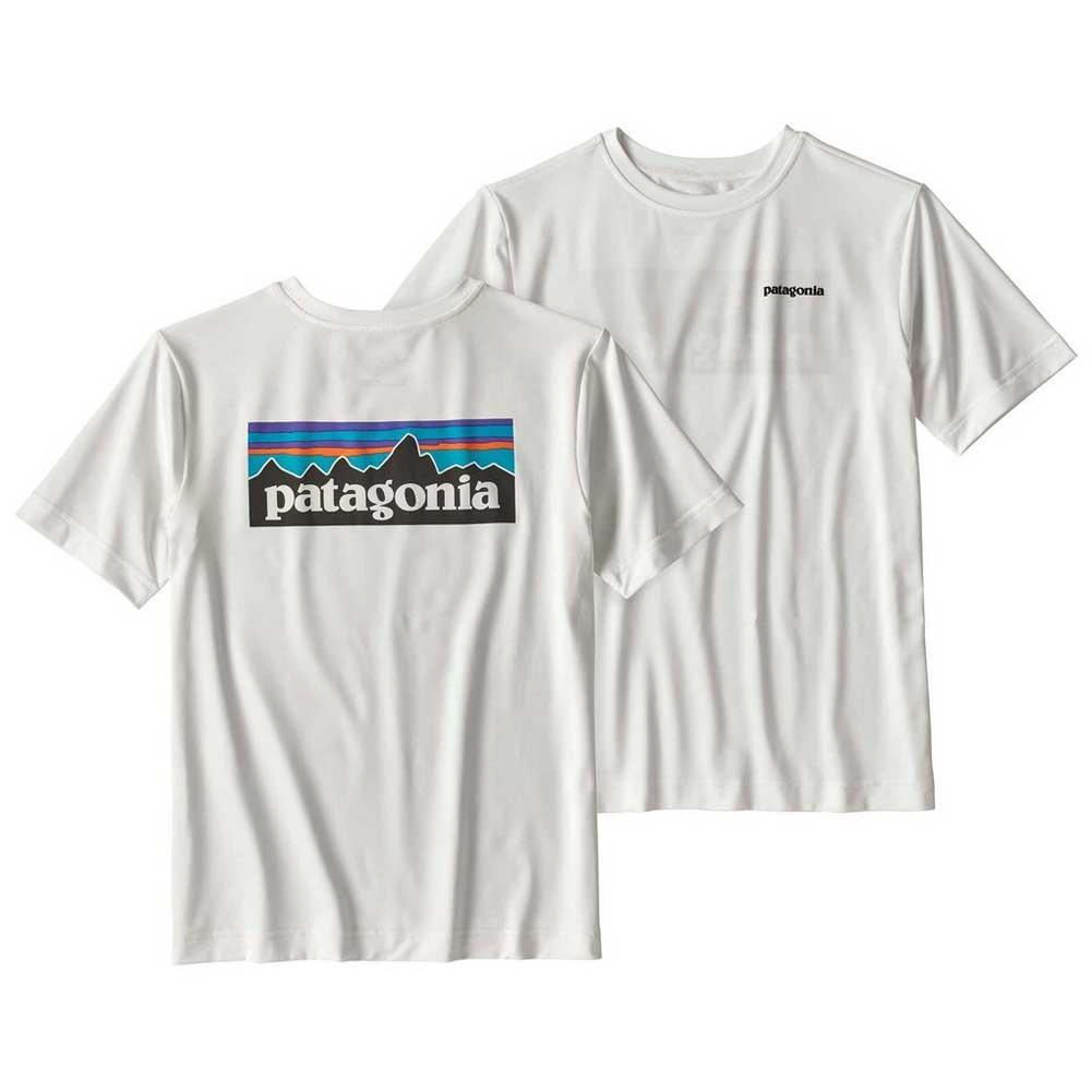 b0d8f2abe Patagonia Capilene SW Graphic Tee Boys Vit, Trekkinn T-shirts