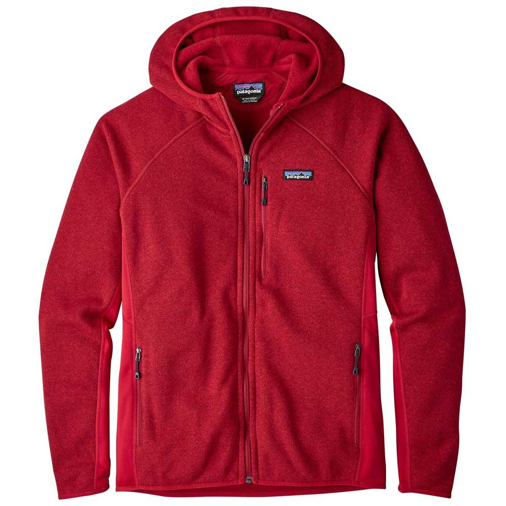 5589ea04323 Patagonia Performance Better Sweater Hoody Rouge