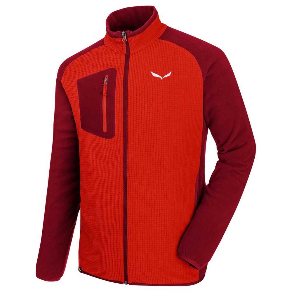 Salewa Puez Plose 4 PL full zip fleece jackets, Men, Puez