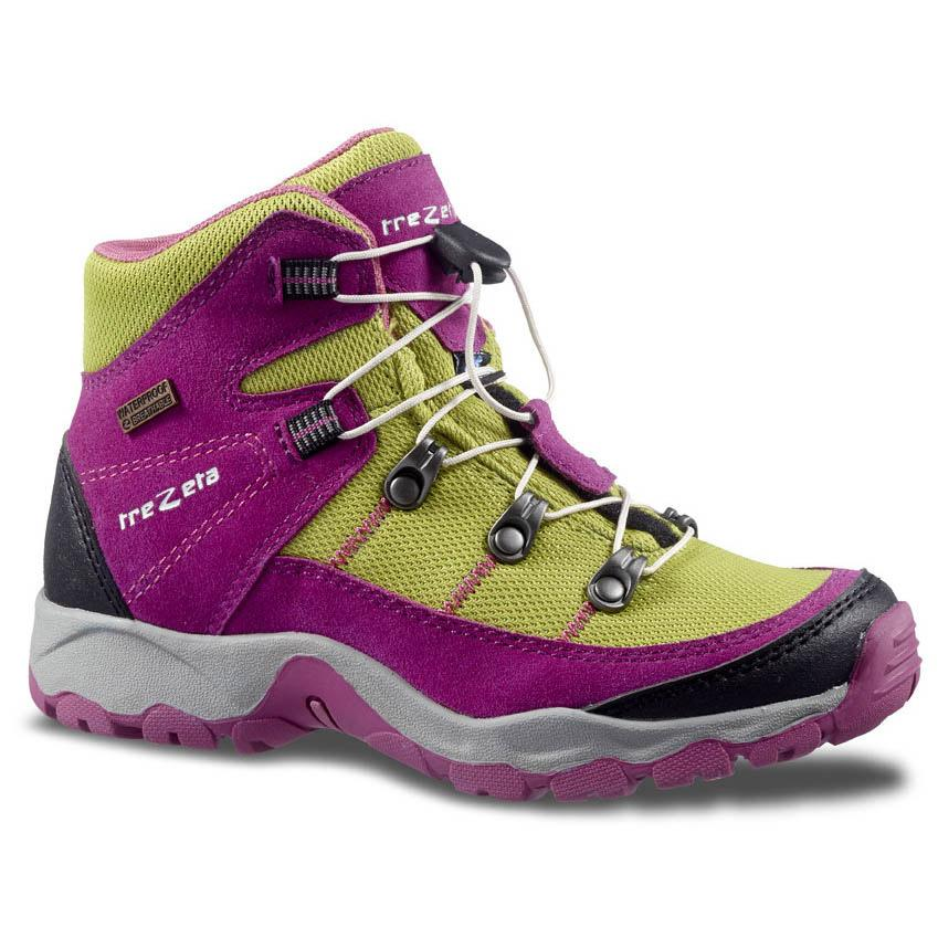 Bottes Trezeta Twister Wp Jr EU 35 Pink / Green