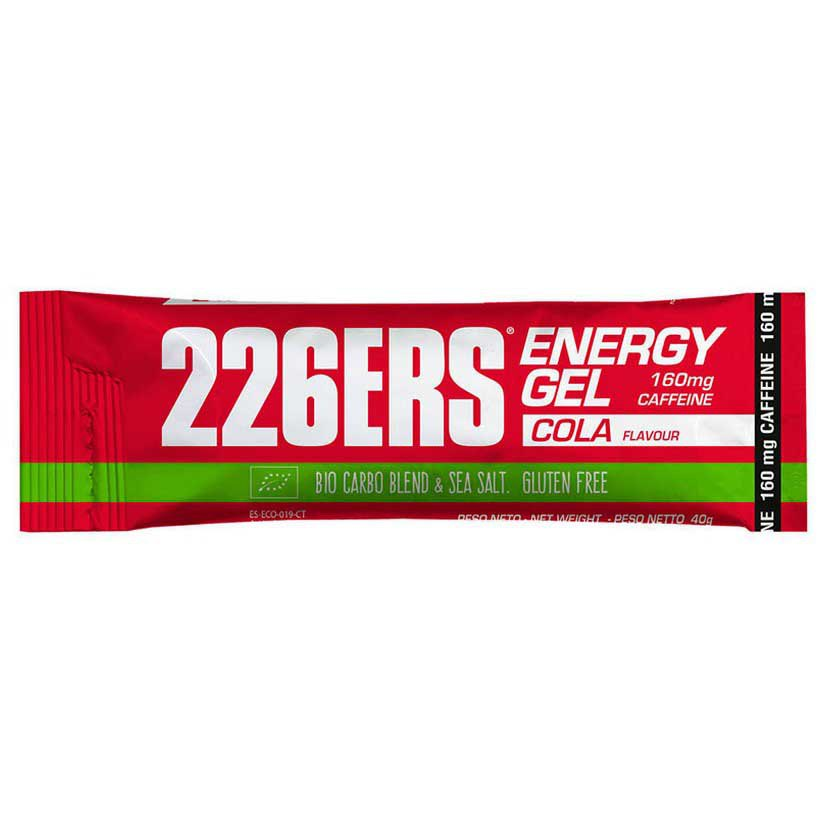 226ers Energy Gel Bio Cola Caffeine 40gr X 30 Units