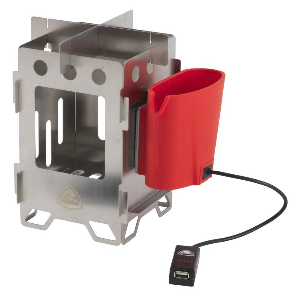 Robens Woodsman Stove And Charger Red Buy And Offers On Trekkinn