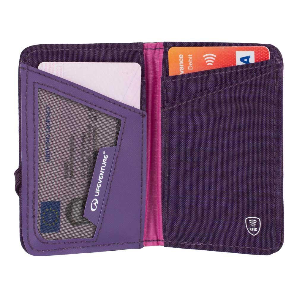 42903c43161 Lifeventure RFID Card Wallet Blauw, Trekkinn