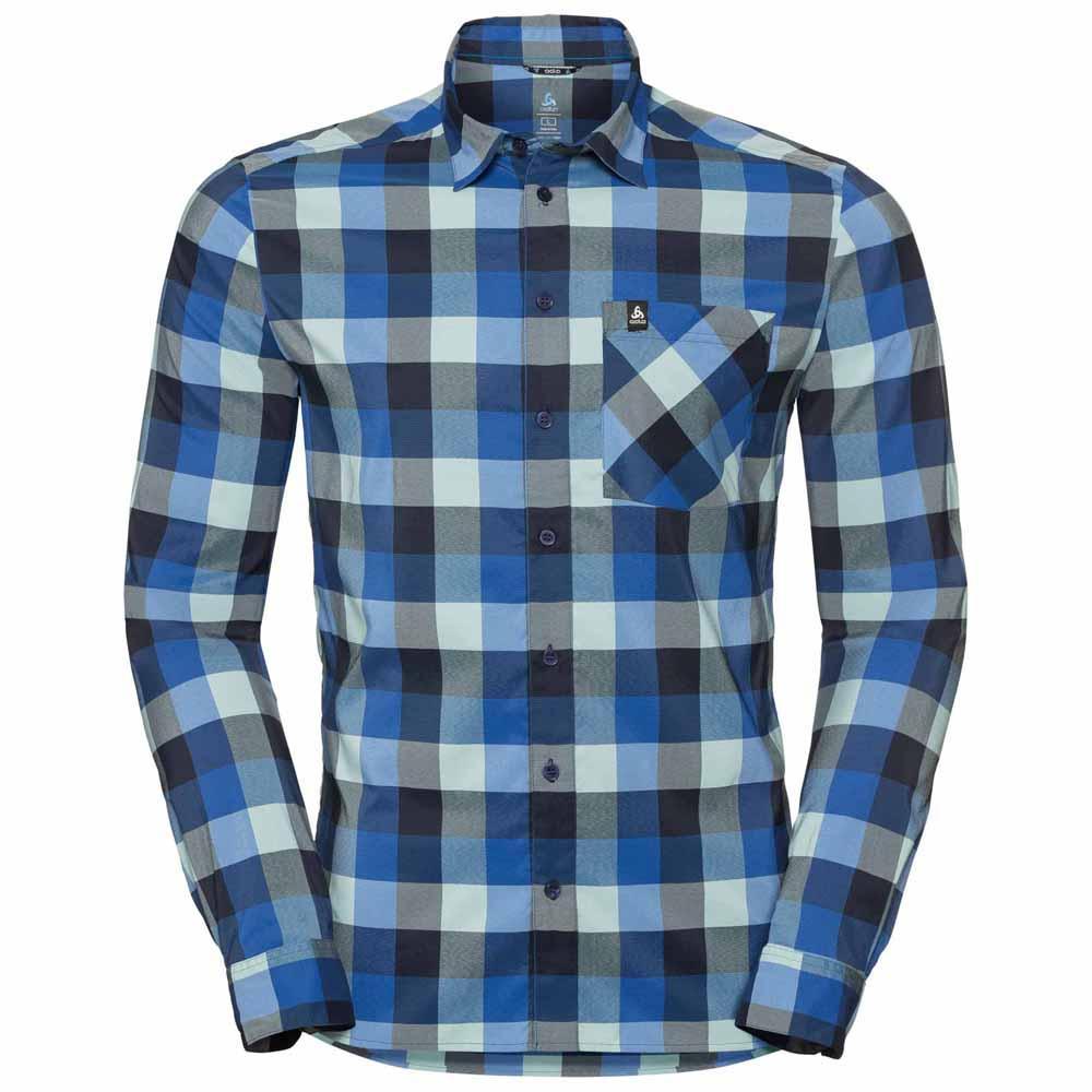 Hemden Odlo Nikko Check L/Ä