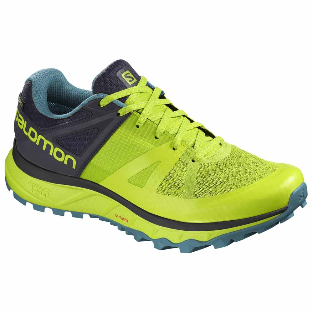 84dc1ecd460cc Salomon Trailster Goretex Yellow buy and offers on Trekkinn
