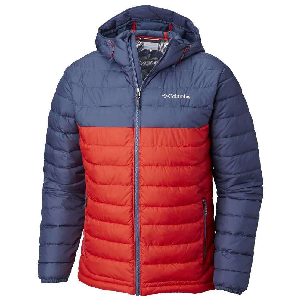 bc06a6de0dc Columbia Powder Lite Hooded Red buy and offers on Trekkinn