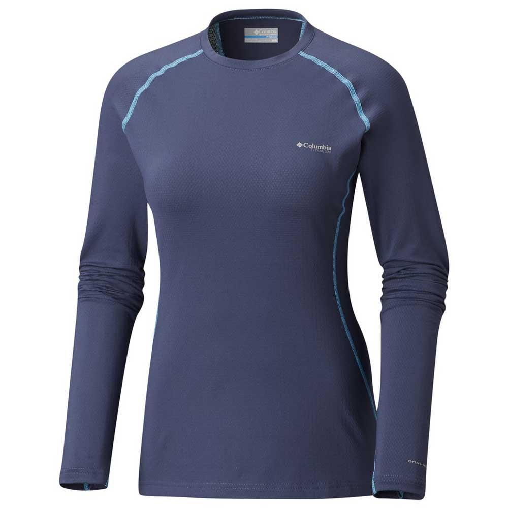 16b87f1cb76ff9 Columbia Omni Heat 3D Knit Crew Blue buy and offers on Trekkinn