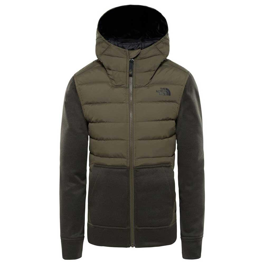 d46fdd432 The north face Mittelegi Down Hoodie Brown, Trekkinn