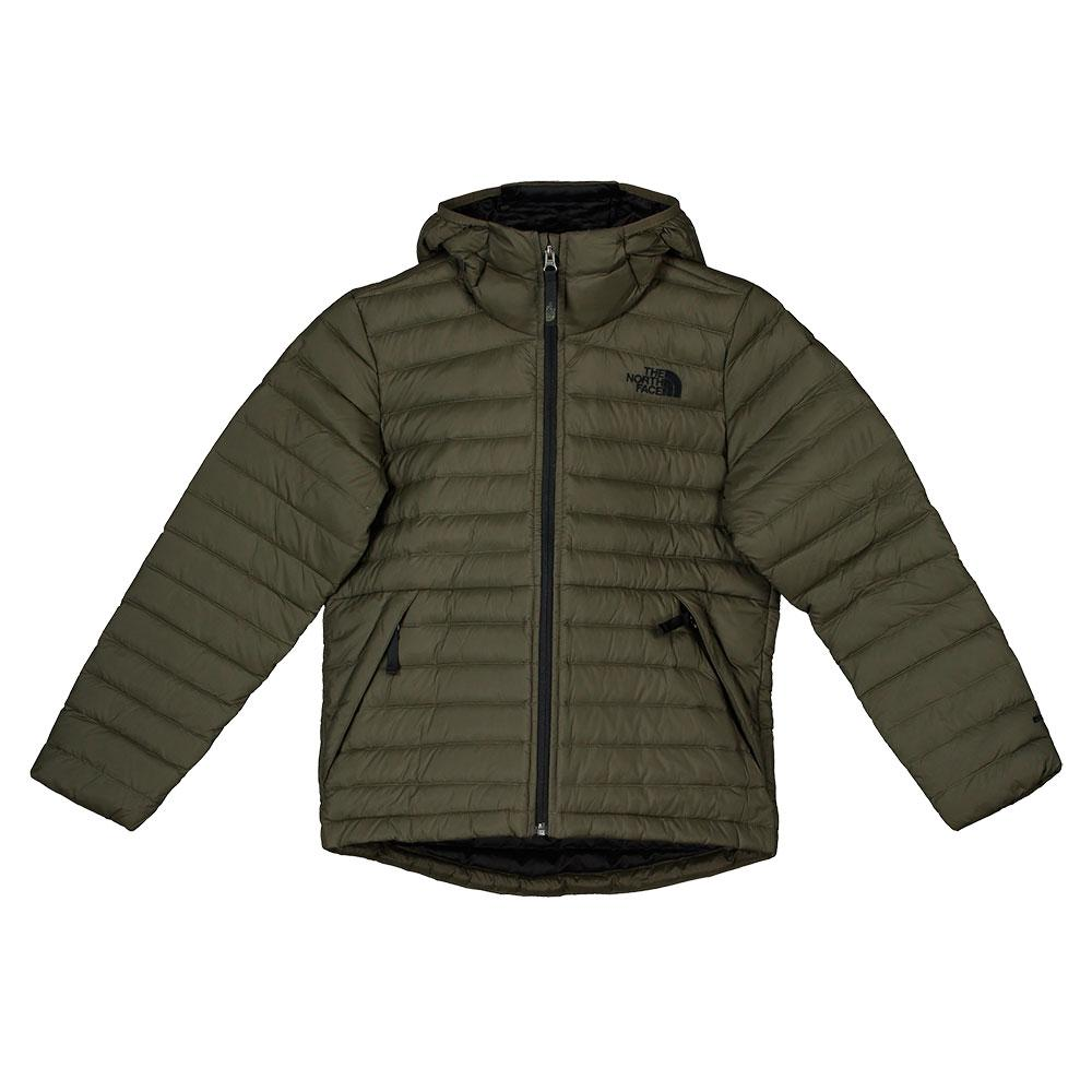 8537a8667421 The north face Aconcagua Down Hoodie Boys Green