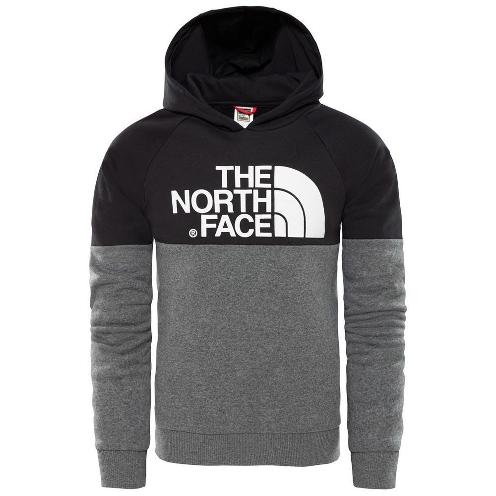 0c2c19292a The north face Drew Peak Raglan Pv Hoodie Youth Noir, Trekkinn