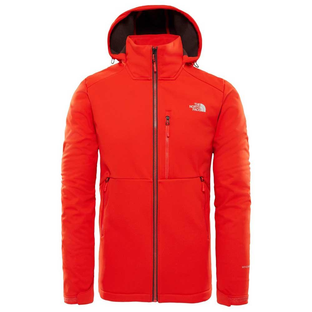 f351e44ea The north face Kabru Softshell Hooded Jacket Red, Trekkinn