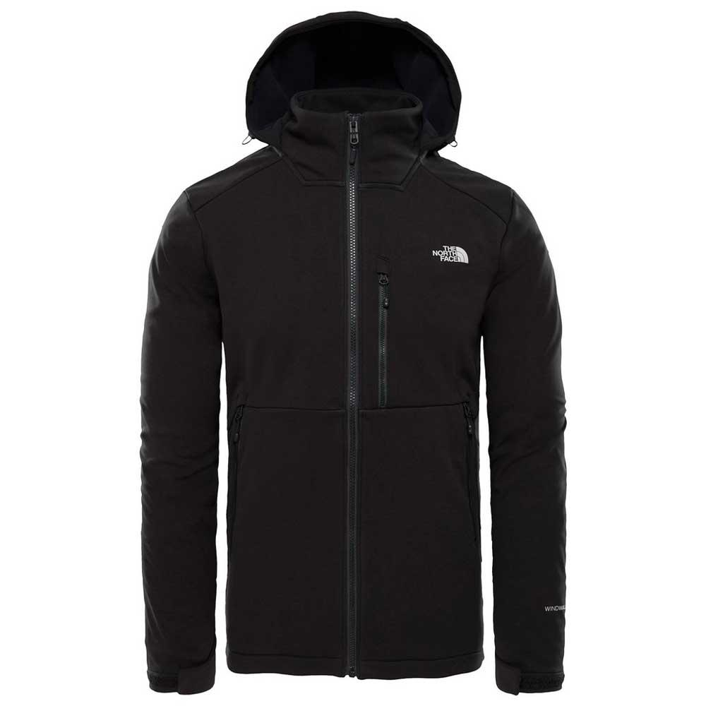 The north face Kabru Softshell Hooded Jacket Nero da598880e721