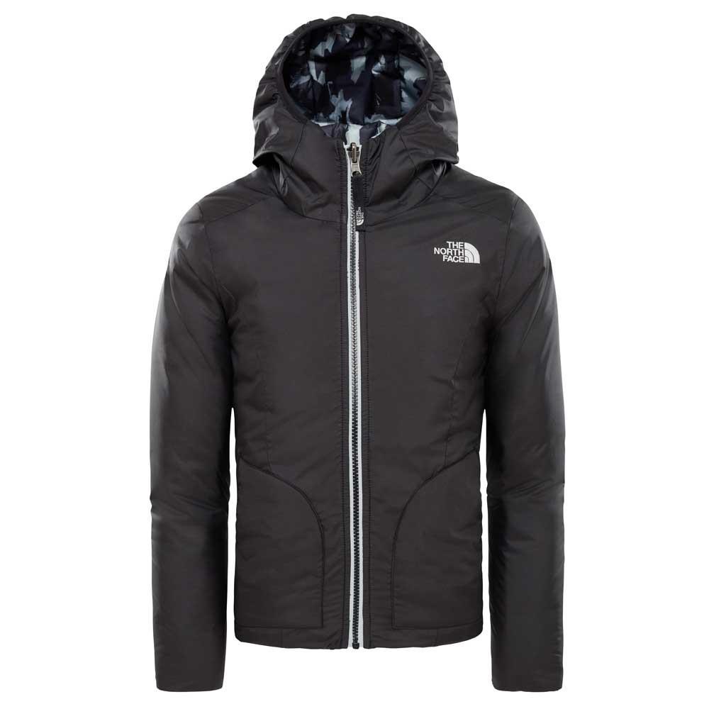 a5abc677e6c The north face Reversible Perrito Jacket Girls Black, Trekkinn