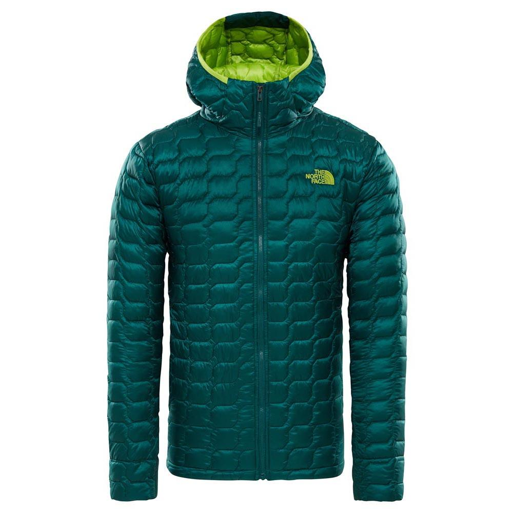 The north face ThermoBall Hoodie Verde f54fc8375430