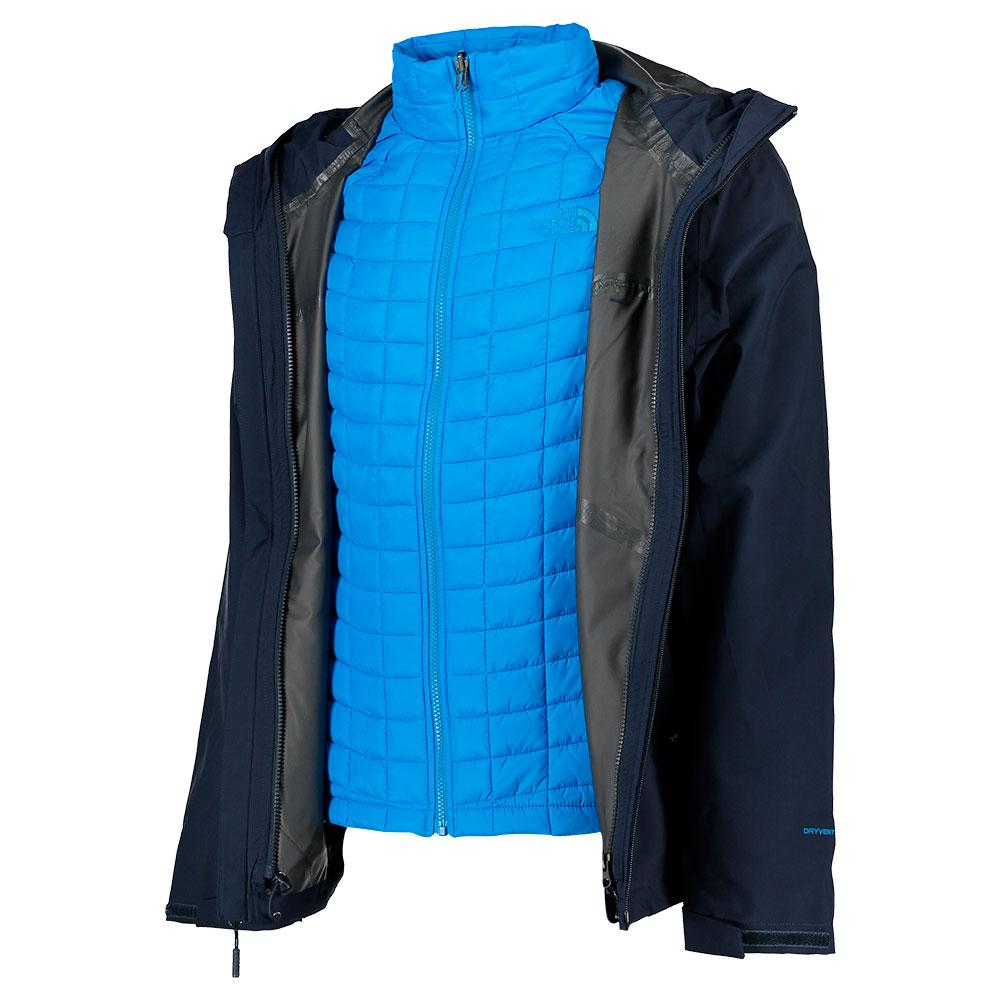 The north face ThermoBall Triclimate Jacket Azul, Trekkinn