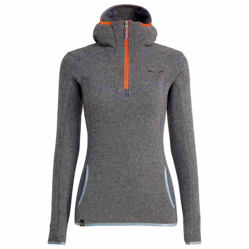 1c7624388b50 Salewa Fanes Wool Hoody Grey buy and offers on Trekkinn