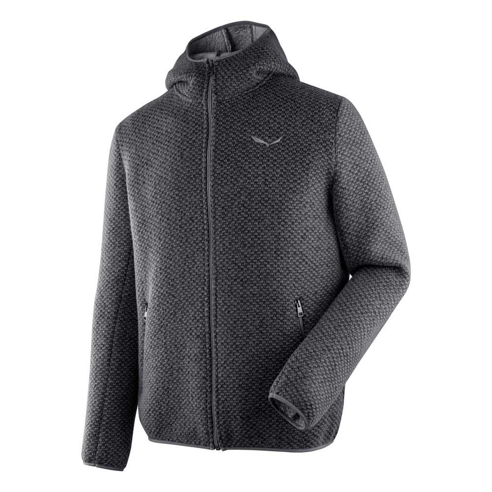 f30846f58bf2 Salewa Woolen 2L Hoody Black buy and offers on Trekkinn
