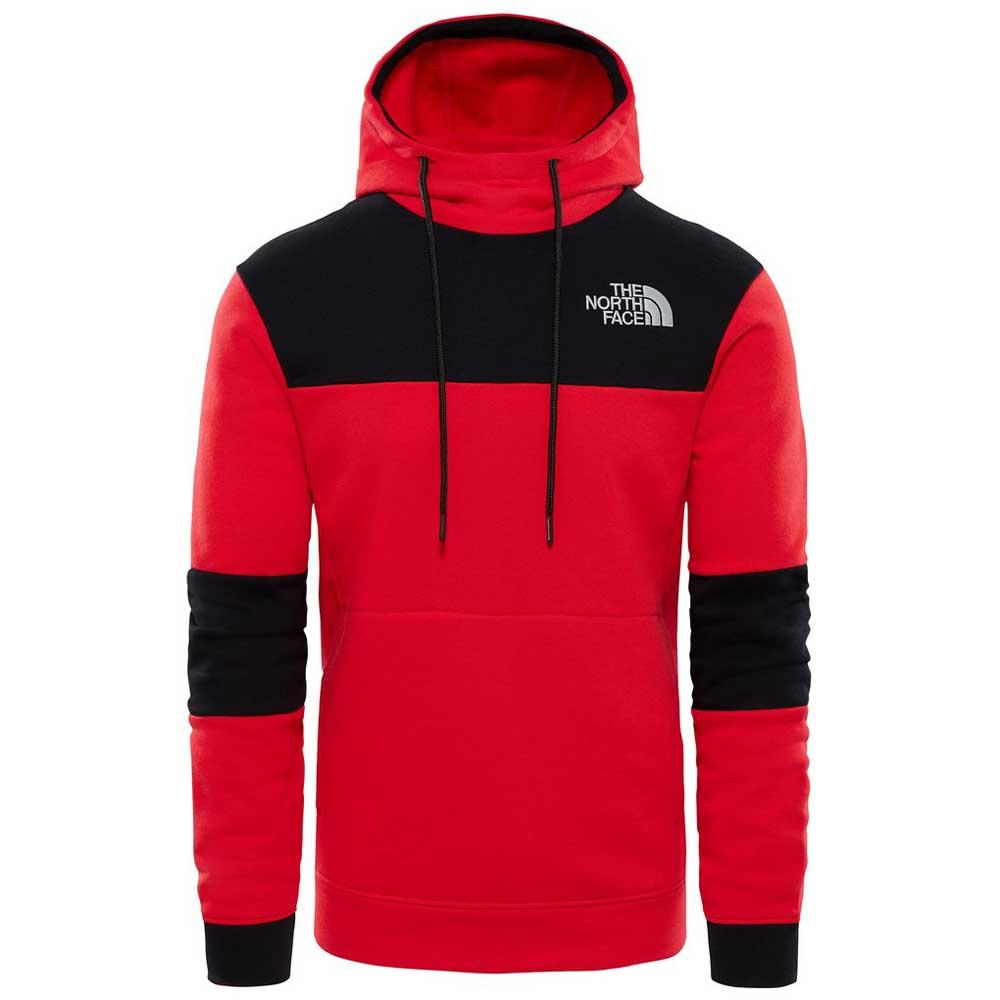d12a420f050 The north face Himalayan Hoodie Red buy and offers on Trekkinn