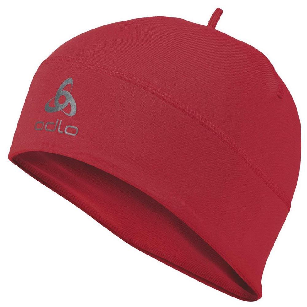 ebcde5e578a5 Odlo Polyknit Hat Red buy and offers on Trekkinn