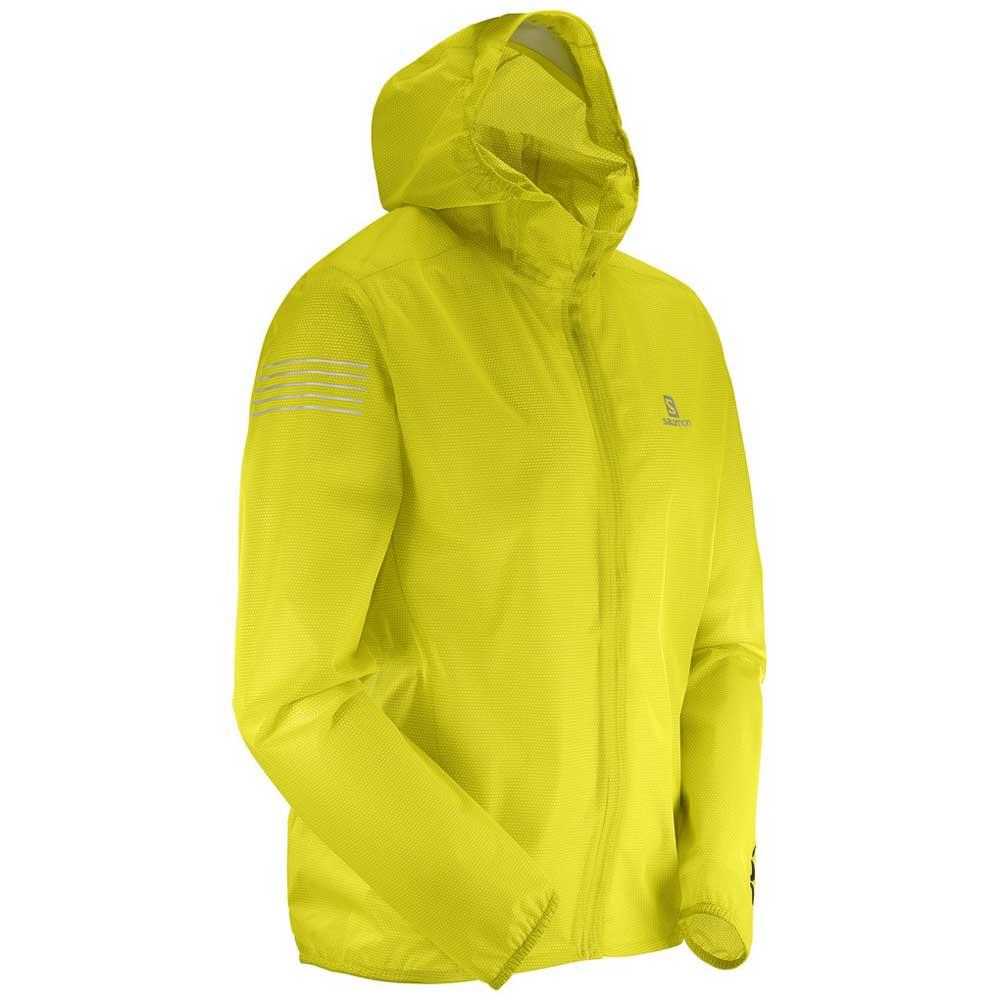 Offizielle Website aliexpress Kauf echt Salomon Bonatti Race Waterproof Yellow, Trekkinn