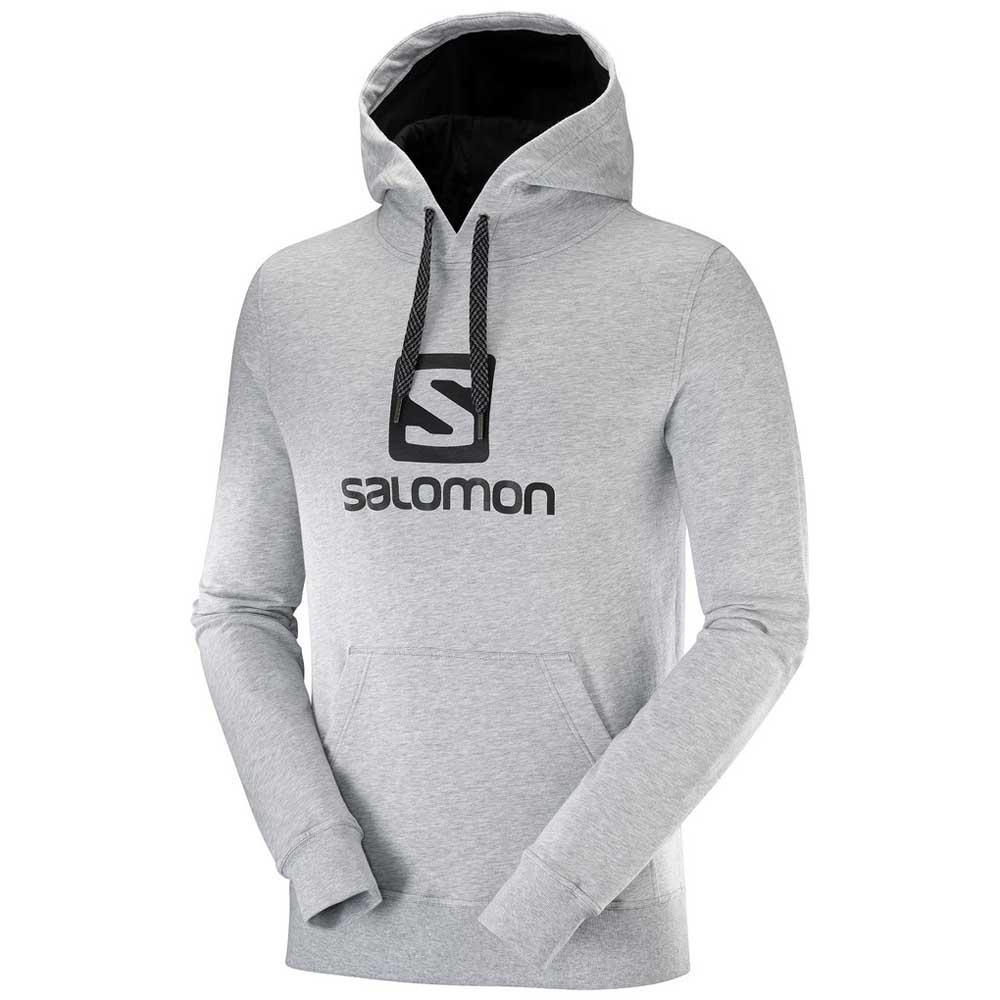 Sur Salomon Hoodie Logo Et Gris Offres Acheter Trekkinn gqCYOpwq